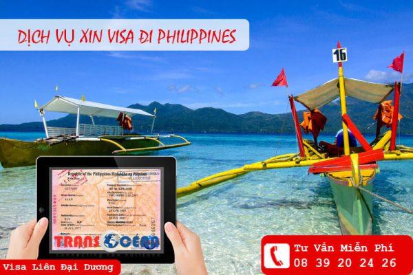 Thủ tục làm visa đi Phi-líp-pin