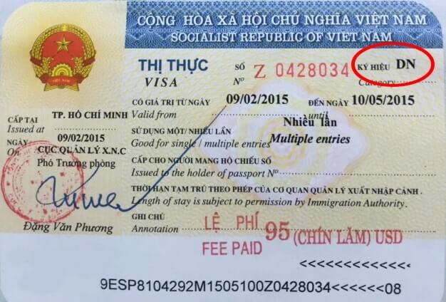 6 months or 1 year visa on arrival to Vietnam
