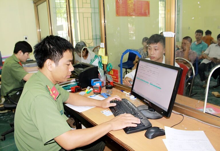 Vietnam Immigration Department office