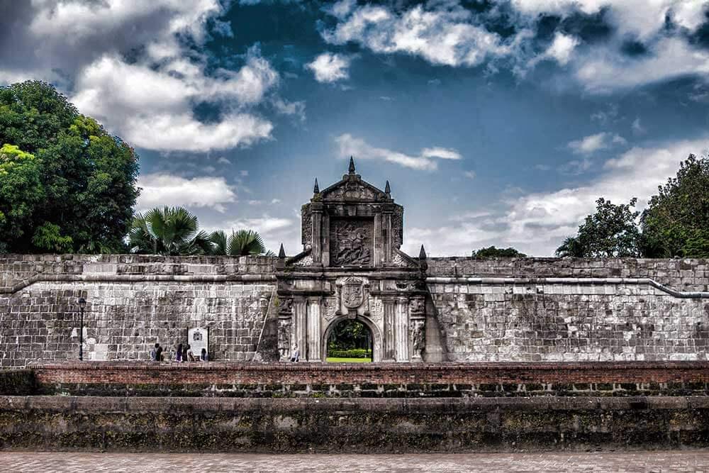 """Pháo đài Santiago, một dấu tích còn lại của Tây Ban Nha tại đất nước """"vạn đảo"""""""