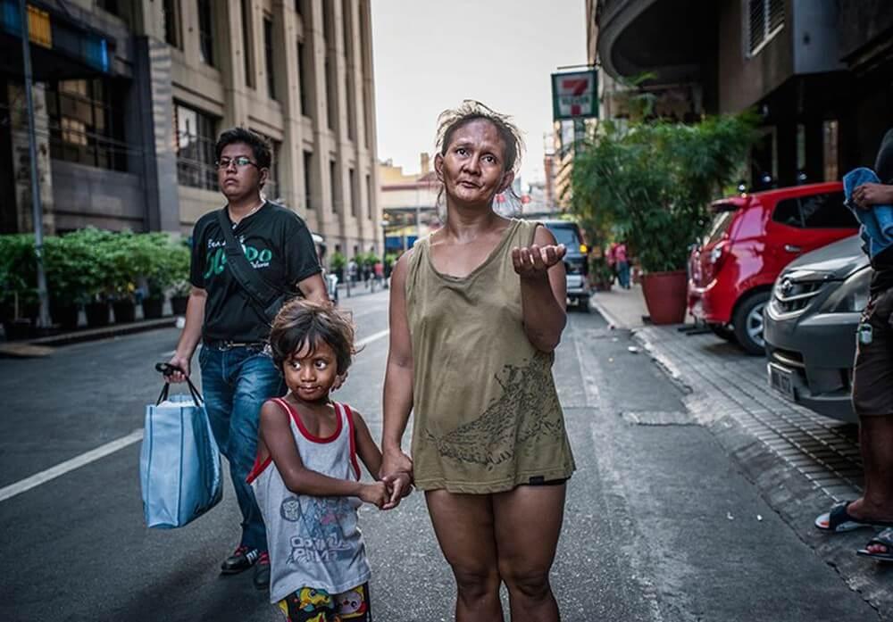 Sự chênh lệch giàu nghèo khá rõ ràng