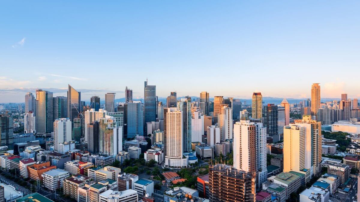 Thủ đô Manila của Philippines