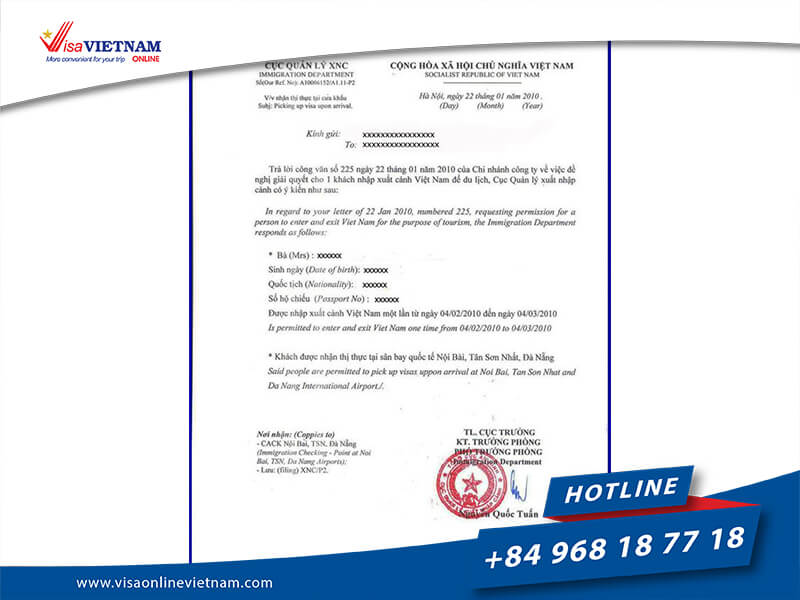 Guideline for Australian citizens to apply for Vietnam visa