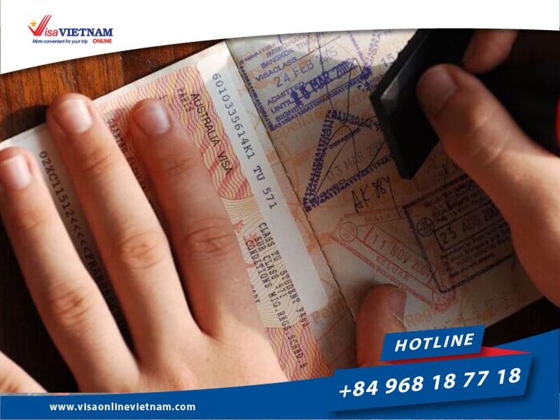 Vietnam visa extension for Australian citizens