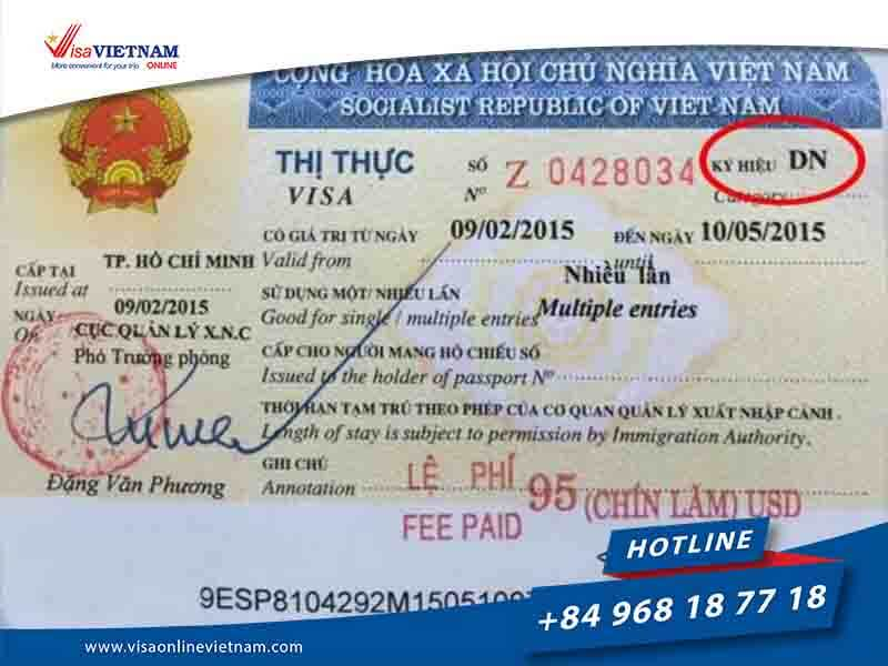 Business Vietnam visa from Thailand