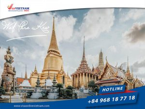 Tourist Vietnam visa from Thailand