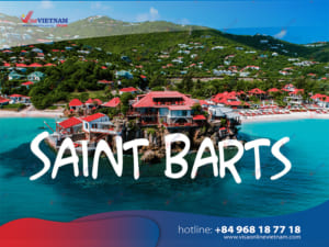 How to get Vietnam visa on Arrival in Saint Barts?