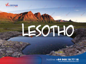 How many ways to get Vietnam visa in Lesotho?