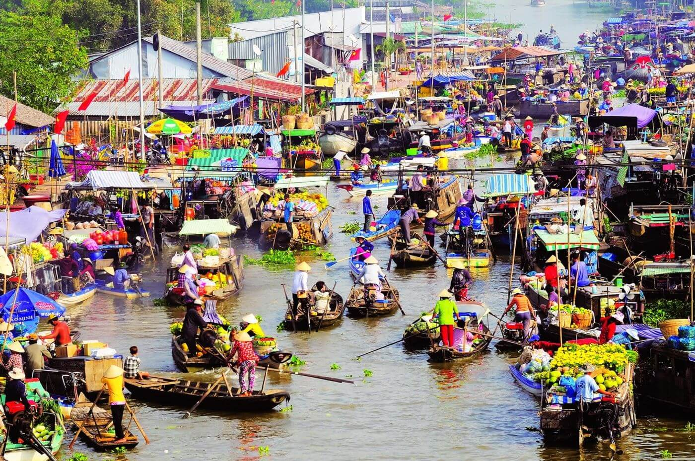 Chợ Nổi Cái Răng - Đặc trưng văn hóa truyền thống miền sông nước